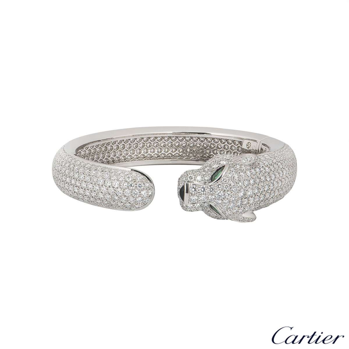 Cartier White Gold Diamond Panthere De Cartier Bracelet H6007417